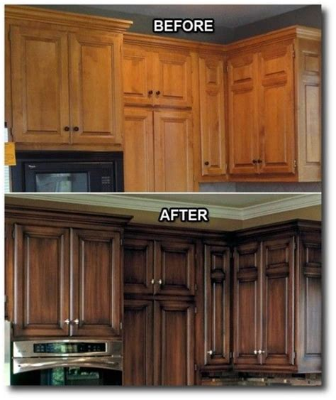 antiquing kitchen cabinets with stain the world s catalog of ideas 7497