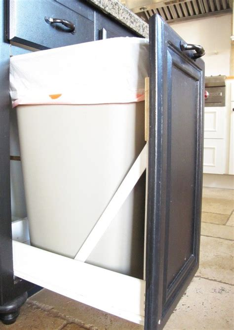Trash Can Cupboard by 1000 Ideas About Trash Can Cabinet On