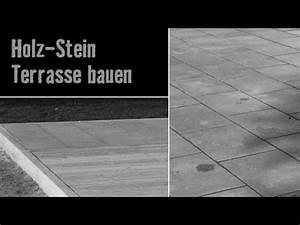 Version 2013 holz stein terrasse bauen hornbach for Holz stein terrasse