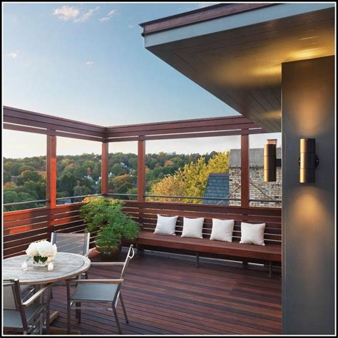 Windschutz Balkon Holz by Balkon Sichtschutz Holz Selber Bauen Balkon Hause
