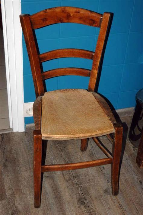 comment tapisser une chaise tuto chaises ou comment retapisser une chaise en paille ou