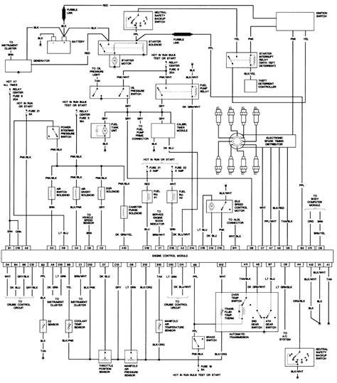 1980 Cadillac Fleetwood Wiring Diagram by 92 Jeep Wrangler Steering Column Wiring Diagram Wiring