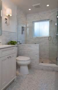 like the half wall not the tile bathroom ideas