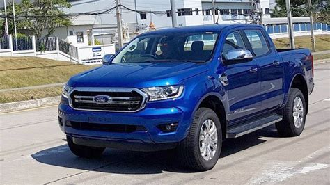 Allnew 2019 Ford Ranger Shows Up In Thailand Without