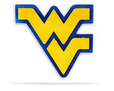 west virginia university hex head art