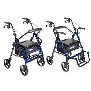 drive duet transport chair and rollator drive lightweight transport wheelchairs