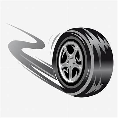 Wheel Racing Tire Vector Tires Rolling Background