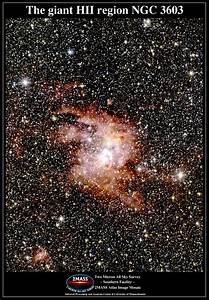 APOD: 2002 August 14 - Giant Emission Nebula NGC 3603 in ...