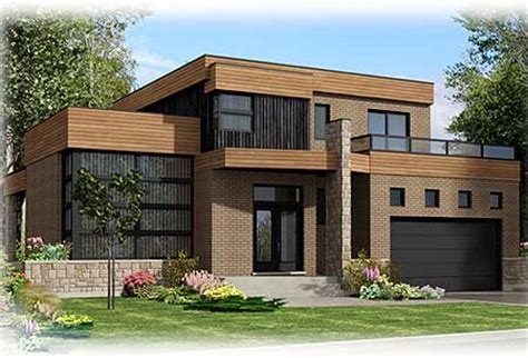 roof deck  contemporary home plan pd architectural designs house plans