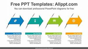 Alignment Arrow Powerpoint Diagram For Free