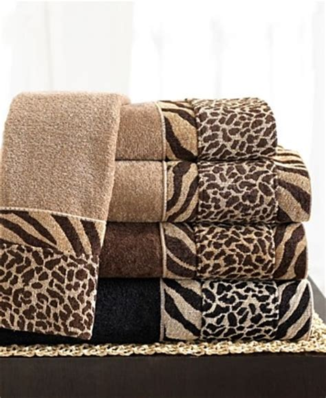 Animal Print Bathroom Ideas by Towels For The Home Animal Print Bathroom Animal