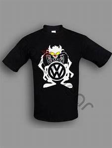 Vw T Shirts : vw taz t shirt black vw accessories volkswagen clothing ~ Jslefanu.com Haus und Dekorationen