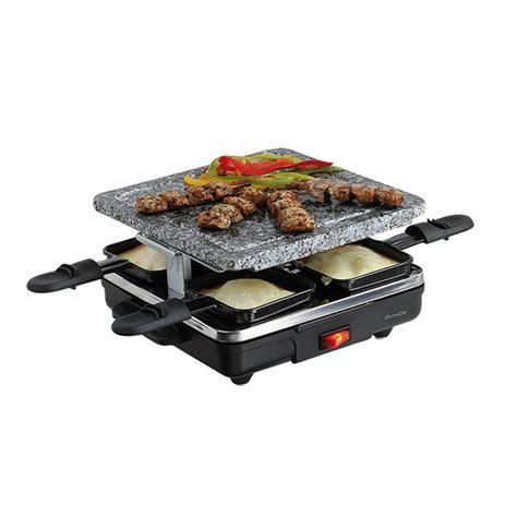 appareil cuisine conviviale appareil à raclette 4 personnes domoclip raclettes