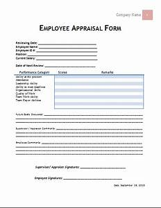 gallery of employee appraisal example With job performance documents