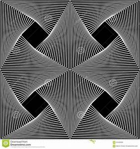 Vector Modern Seamless Geometry Pattern Line Art, Black ...
