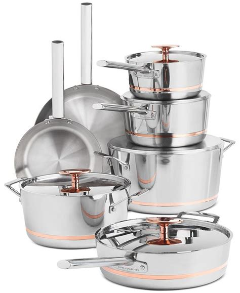 hotel collection  pc stainless steel  copper core