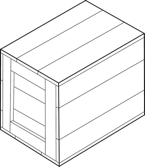 wood box detail drawing  woodworking