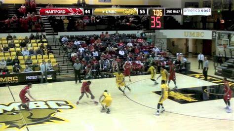 umbc mens basketball  hartford highlights  youtube