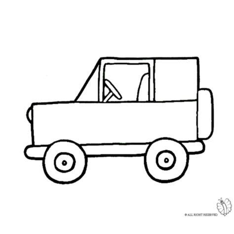 disegni da colorare jeep disegno di jeep fuoristrada da colorare per bambini