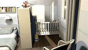 Lit Bébé Petit Espace : faire une chambre de bebe dans un petit espace visuel 1 ~ Melissatoandfro.com Idées de Décoration