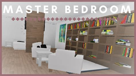 roblox   bloxburg master bedroom youtube