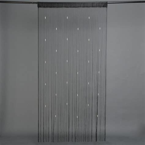 Door Bead Curtains Flies by 3 Colors String Curtain Fringe For Door Fly Screen Beaded