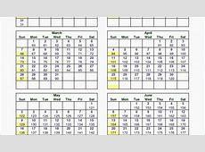 Julian Calendar 2019 Quadax Pdf 2018 Calendar Template
