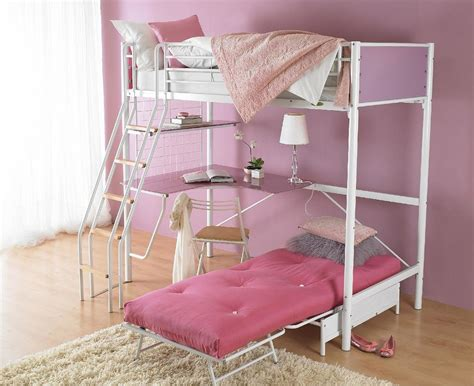 bed with desk and storage full size loft bed with desk and storage masata design