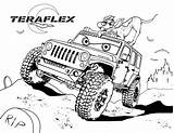 Coloring Trip Road Jeep Boys Teraflex Years Exclusive Vicoms Rider Panther Ghost sketch template