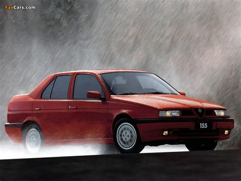 Alfa Romeo 155 Q4 167 (1992–1995) wallpapers (800x600)