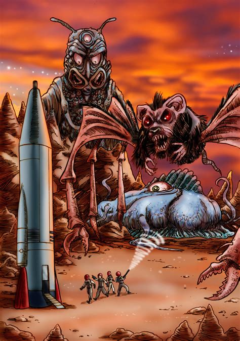 angry red planet  loneanimator  deviantart