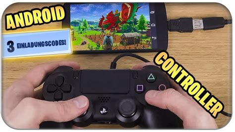 fortnite auf handy android  codes ps controller