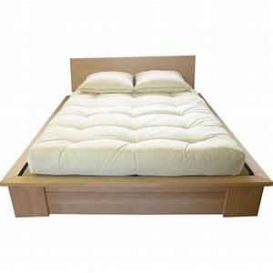 Cadre De Lit Pour Sommier Tapissier : amazing cadre de lit pour sommier tapissier cadre de lit pinterest cadre de lit lit et ~ Teatrodelosmanantiales.com Idées de Décoration
