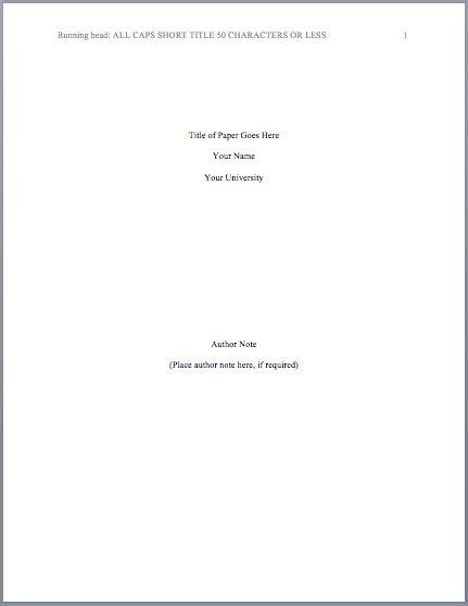format title page mlaformatorg