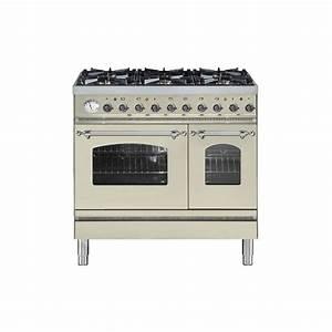 cucina ilve pd90n doppio forno piano cottura 6 With cucine a gas con due forni