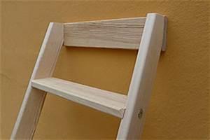 Holzleiter Selber Bauen : hochbettleiter stufen anlegeleiter holzleiter mit 10 stufen ebay ~ Frokenaadalensverden.com Haus und Dekorationen