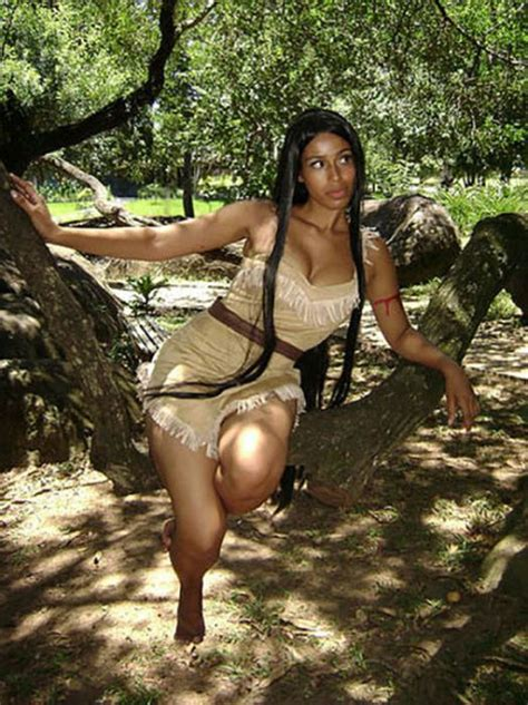 Girls Dressed In Hot Native American Outfits Pics
