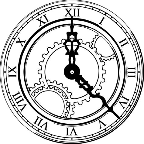 clock coloring page clock coloring pages