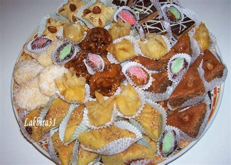 cuisine marocaine patisserie assortiment de petits gâteaux pâtisserie orientale