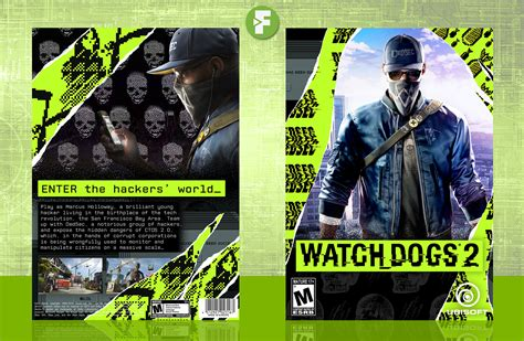 Watch Dogs 2 Pc Box Art Cover By Frankbedbroken