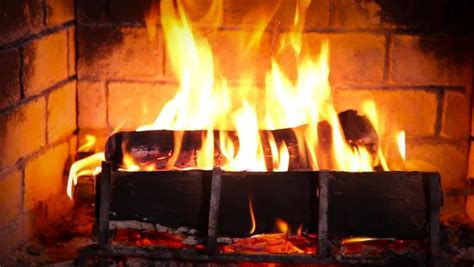 wood burning yule log hgtv