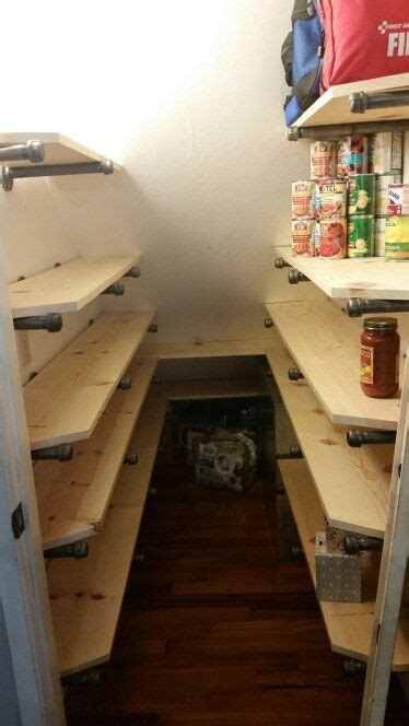 If you like shelves under stairs, you might love these ideas. Pin on Under the Stair Closet
