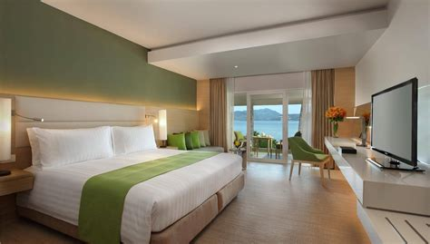 the room for a deluxe ocean view room amari phuket