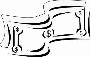 Dollar Bill Clip Art Black And White | Clipart Panda ...