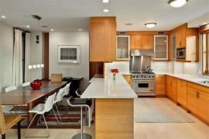 Decoration cuisine ouverte sur salle a manger for Idee deco cuisine avec jolie salle a manger