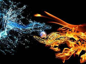 Fire And Water by pedroloko on DeviantArt