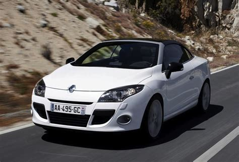 Renault Convertible by 2012 Renault Megane Coupe Convertible Summer Edition