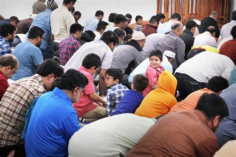 boston prayer time table muslims non muslims gather in quincy for ramadan iftar