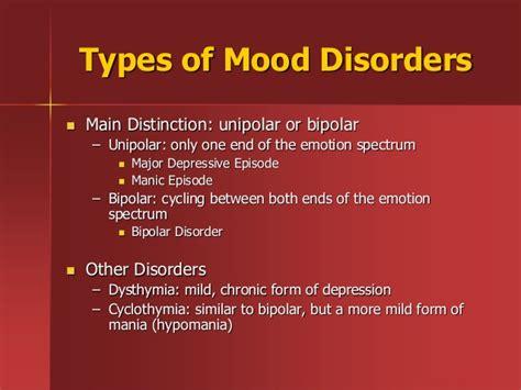 Depression Disorders Mood Disorders Depression Mania Bipolar Disorder