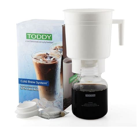 Basically, we're manufacturing these cold drip coffee maker developed our own design and own system. NEW TODDY COLD BREW COFFEE MAKER SYSTEM Tea Less Acid Drip Pour Over 758591011027 | eBay
